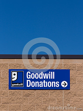 Goodwill store exterior sign editorial image image 42155255 for Is goodwill a non profit organization