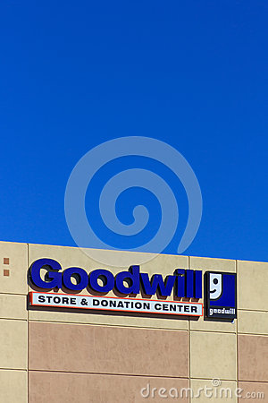 Goodwill store exterior sign editorial image image 43259250 for Is goodwill a non profit organization