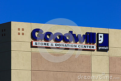 Goodwill store exterior sign editorial photo image 43259286 for Is goodwill a non profit organization