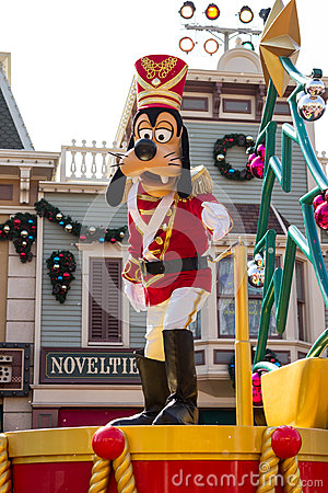 GOOFY Celebrate Christmas New Year Editorial Photography