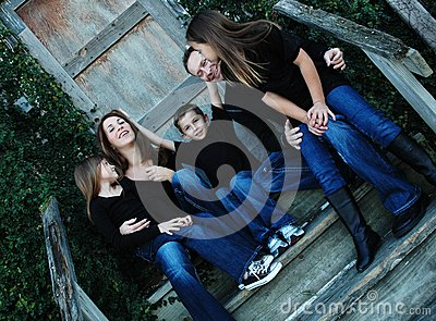 Goofy Family Portrait