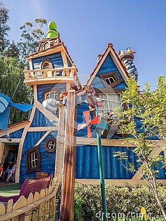 Free Goofy S Playhouse In Toontown, Disneyland Royalty Free Stock Photos - 67765918