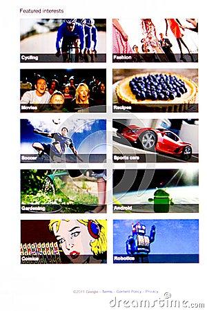 Google + Editorial Photography