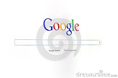 Google Editorial Photo