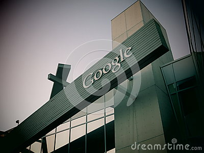 Google Headquarters California Editorial Stock Image