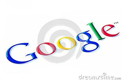 Google logo Editorial Photography