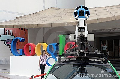 Google Maps Car in Bangkok Editorial Photo