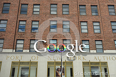 Google New York Offices Editorial Photography