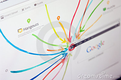 Google plus Editorial Image