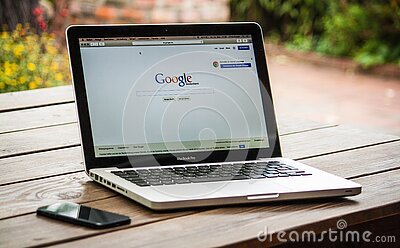 Google Search Engine On Macbook Pro Free Public Domain Cc0 Image
