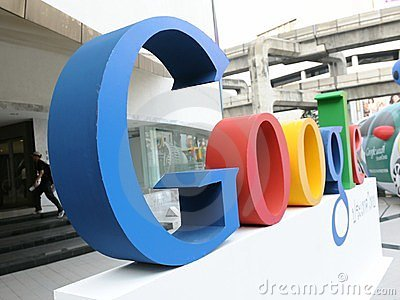 Google Sign Editorial Image