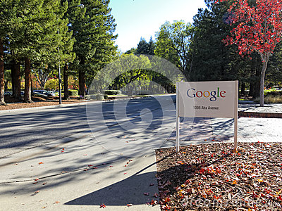 Google sign in Mountain View