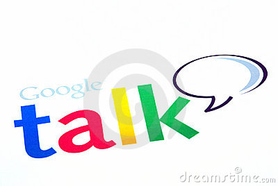 Google talk logo Editorial Image