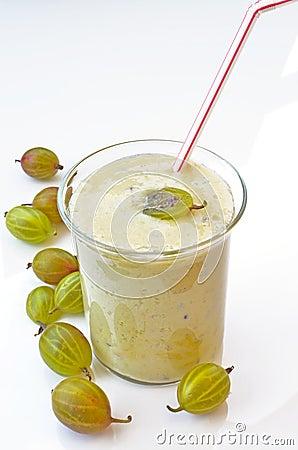Gooseberries smoothie