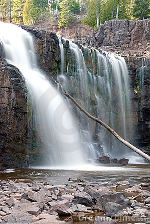 Gooseberry Falls (lower fall)