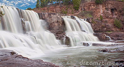 Gooseberry Falls (middle fall)