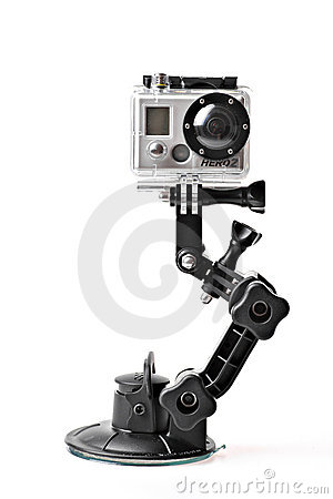 GoPro HERO2 action camera Editorial Photo