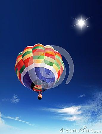 Gorący lotniczy balon