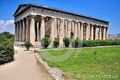 Ágora velha em Atenas