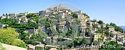 Gordes village panorama. Luberon, Provence