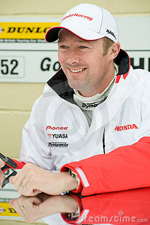 Gordon Shedden Editorial Stock Image