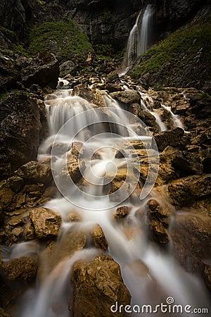 Goredale Scar waterfall