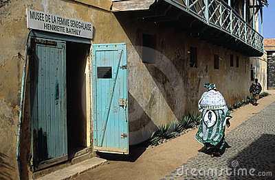 Goree Island. Senegal Editorial Photography
