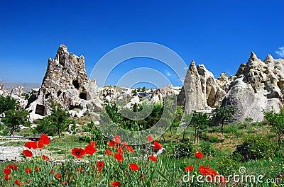 Goreme in Cappadocia