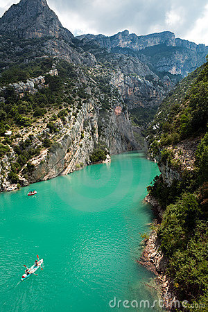 Free Gorge Du Verdon In Provence Royalty Free Stock Photos - 19337728