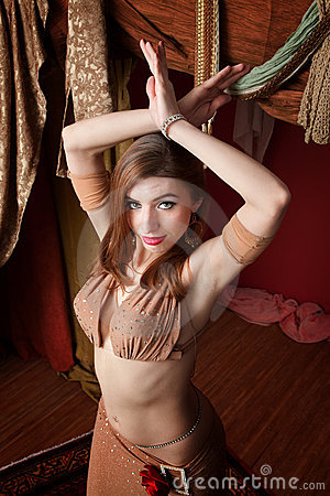 Gorgeous Belly Dancer