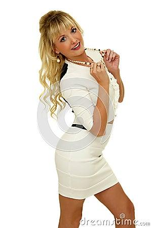 Gorgeous blond girl
