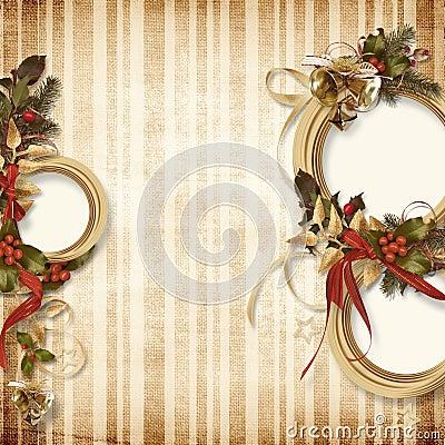 Gorgeous Christmas frame