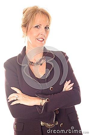 Gorgeous executive business woman portrait