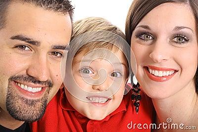 Gorgeous family portrait