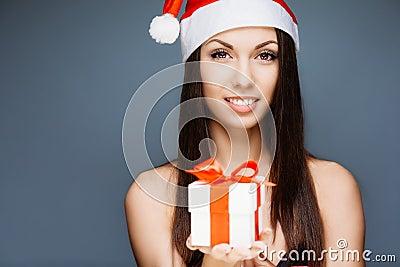 Gorgeous santa girl
