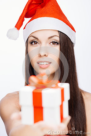 Gorgeous santa girl