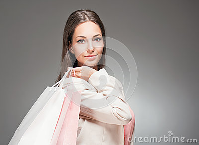 Gorgeous shopper.