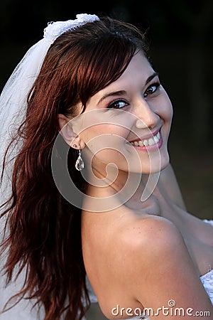 Gorgeous Smiling Bride