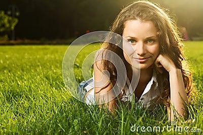 Gorgeous young pretty woman