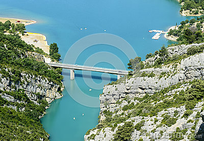 Gorges du Verdon and Lac de Sainte-Croix