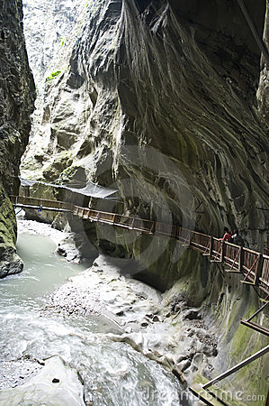 Free Gorges In Switzerland Stock Photography - 6030082