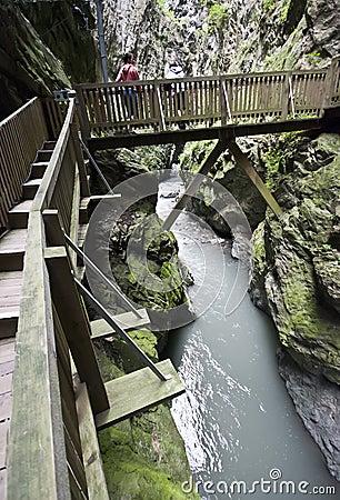 Gorges in Switzerland