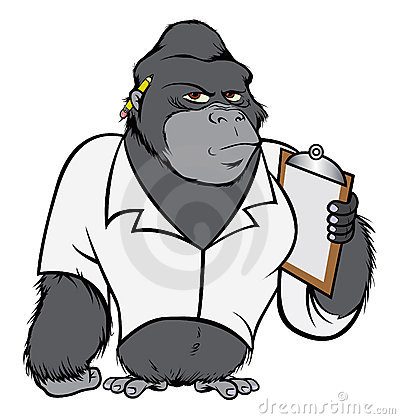 Gorilla lab suit