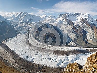 Gorner Glacier (Gornergletscher), Switzerland