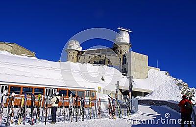Gornergrat Zermatt Editorial Stock Photo