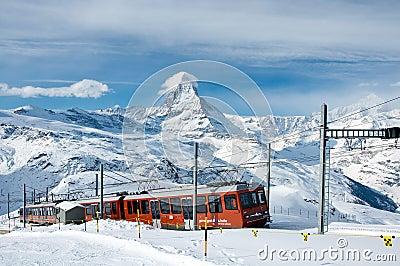 The Gornergratbahn Editorial Photography