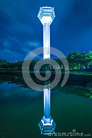 Goryokaku Tower Editorial Stock Photo