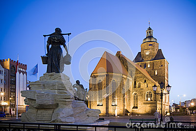 Gorzow Wielkopolski. Polska