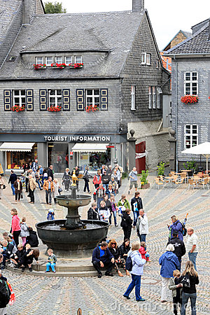 Goslar market place Editorial Photo