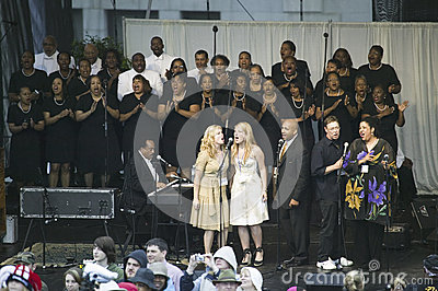 Gospel Choir Editorial Photo